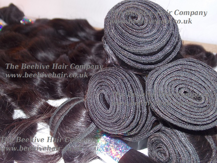 Beehive wefts